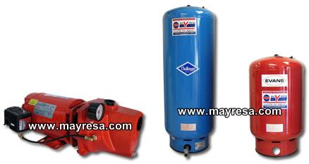 Equipos hidroneumaticos sistemas hidroneumaticos for Equipo hidroneumatico